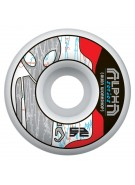 Alien Workshop Alpha - Grey - 52mm - Skateboard Wheels