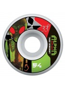 Alien Workshop Alpha - Green - 54mm - Skateboard Wheels