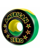 Zero Rasta American  - 53mm - Red/Yellow/Green - Skateboard Wheels