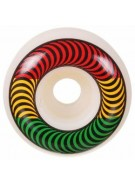 Spitfire Classic Rasta 52mm - Red/Yellow/Green - Skateboard Wheels
