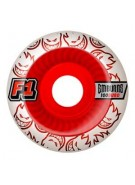 Spitfire F1 SB Emburns Elixers 52mm - White/Red - Skateboard Wheels