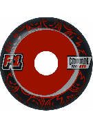 Spitfire F1 SB Emburns Infernos 52mm - Black/Red - Skateboard Wheels