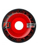 Spitfire F1 SB Emburns Infernos 53mm - Black/Red - Skateboard Wheels