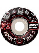 Spitfire F1 street- Lock-ins - 52mm - Skateboard Wheels