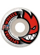 Spitfire Wheels F1 Streetburners Bighead White - 50mm - Skateboard Wheels
