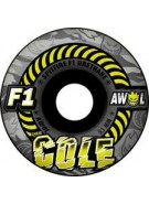 Spitfire F1 Awol Cole Camo Black - 53mm - Skateboard Wheels