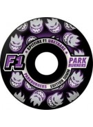 Spitfire Wheels F1 Parkburners Classic - Black - 50mm - Skateboard Wheels