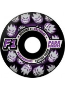Spitfire Wheels F1 Parkburners Classic - Black - 54mm - Skateboard Wheels