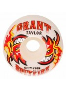 Spitfire Wheels Taylor Hot Sauce White - 54mm - Skateboard Wheels