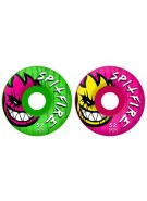 Spitfire Wheels Death Mask Mash-Up - 54mm - Skateboard Wheels