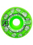 Spitfire Wheels F1 PB Classic - Neon Green - 52m - Skateboard Wheels