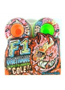 Spitfire Wheels F1SB Cole Z.A. Quad Mash - 52mm - Skateboard Wheels