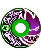 Spitfire Wheels Always On - Neon Green -  52mm - Skateboard Wheels