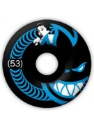 Spitfire Wheels Burn Circle - Black -  53mm - Skateboard Wheels