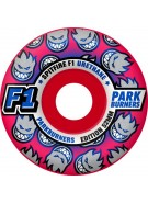 Spitfire Wheels F1 Parkburners - Rocket Red - 52mm - Skateboard Wheels