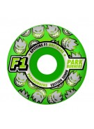 Spitfire Wheels F1 Parkburners Classic - Neon Green - 56mm - Skateboard Wheels