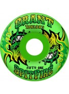 Spitfire Wheels Taylor Salsa Verde Neon - 51mm - Skateboard Wheels