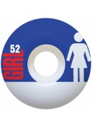Girl Real Big - Blue - 52mm - Skateboard Wheels