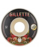 Habitat Gillette Bali Mask - Black - 51mm - Skateboard Wheel
