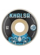 Habitat Khalsa Bali Mask - Black - 53mm - Skateboard Wheel