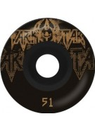 Darkstar Decay Price Knight - Black/Gold - 53mm - Skateboard Wheels