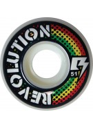 Revolution Rasta - 51mm - Skateboard Wheels