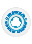 Ricta 56mm Speedrings - White/Cyan -  81b - Skateboard Wheels