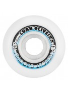 Flip 52mm Oliveira Gremio Sidecuts Grooves White 81b - Skateboard Wheels