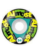 Almost Cluster Funks Standard Wheel - Black - 54mm - Skateboard Wheels