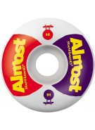Almost Over Under Standard Wheel - Red/Purple - 51mm - Skateboard Wheels