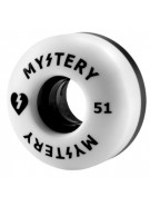 Mystery Split Urethane - 51mm - Black/White - Skateboard Wheel