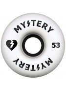 Mystery Split Urethane - 53mm - Black/White - Skateboard Wheel