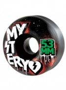 Mystery Barrio Colors - 53mm - Black - Skateboard Wheel