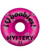 Mystery I Heart Boobies - 53mm - Pink - Skateboard Wheel