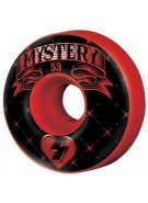 Mystery Monogram - 53mm - Red - Skateboard Wheel