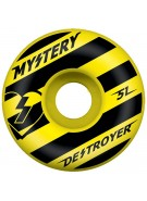 Mystery Destroyer - 51mm - Yellow- Skateboard Wheel