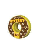 Mystery Authentics - 53mm - Yellow- Skateboard Wheel