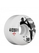 Bones Street Tech Formula STF V2 Thin - White - 53mm - Skateboard Wheels