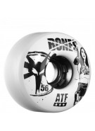 Bones All Terrain Smoking All Terrain Formula ATF - White - 56mm - Skateboard Wheels
