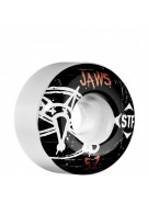 Bones Pro Team Homoki Oh Gee Street Tech Formula STF - White - 51mm - Skateboard Wheels