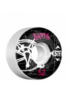 Bones Pro Team Bartie Oh Gee Street Tech Formula STF - White - 52mm - Skateboard Wheels