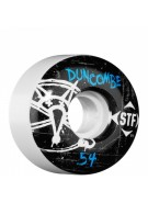 Bones Pro Team Duncombe Oh Gee Street Tech Formula STF - White - 54mm - Skateboard Wheels