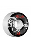 Bones Pro Team Fellers Oh Gee Street Tech Formula STF - White - 53mm - Skateboard Wheels