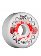 Bones Skate Park Formula SPF Collabo Dagger - White - 58mm - Skateboard Wheels