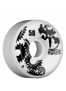 Bones Skate Park Formula SPF Gear Head - White - 58mm - Skateboard Wheels