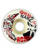 Bones Street Tech Formula STF Dead Heads 2 - White - 52mm - Skateboard Wheels