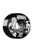 Bones All Terrain Formula ATF Bikini Girl - Black - 52mm - Skateboard Wheels