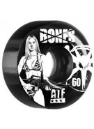 Bones All Terrain Formula ATF Bikini Girl - Black - 60mm - Skateboard Wheels