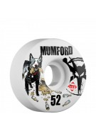 Bones Mumford Blue Dog Street Tech V1 - 52mm - Skateboard Wheels