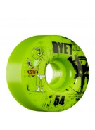 Bones STF Pro Dyet Whities - Green - 54mm - Skateboard Wheels